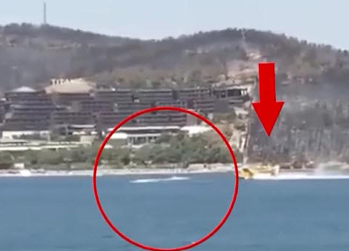 Yangına müdahale sırasında uçağa engel olduğu iddia edilmişti: O jet-ski için yeni gelişme
