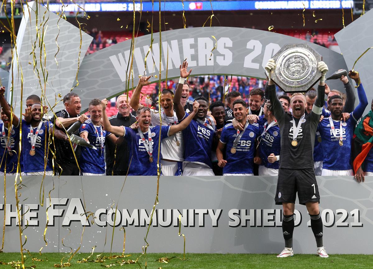 Manchester City'yi yenen Leicester City Community Shield'i kazandı