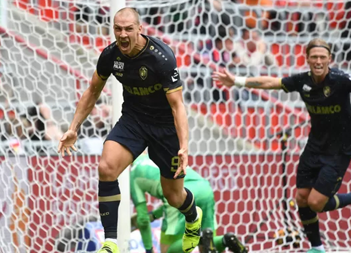Frey'in 5 gol attığı maçta Royal Antwerp, Standart Liege'i 5-2 yendi