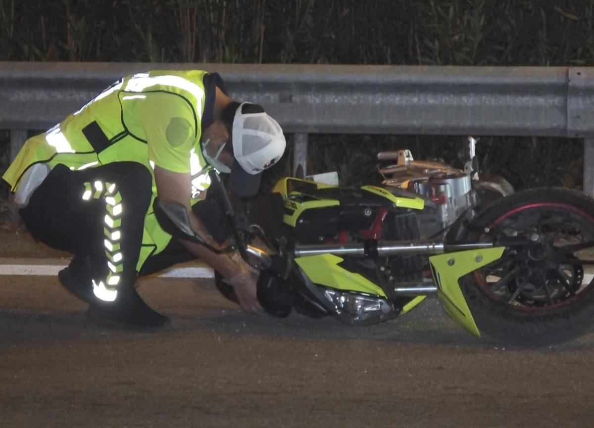 Bursa'da feci kaza: 30 metre sürüklenen motosiklet sürücüsü hayatını kaybetti