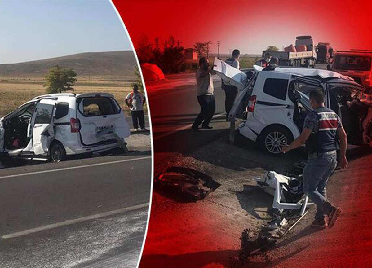 Konya'da feci kaza! 6 ölü, 2 yaralı