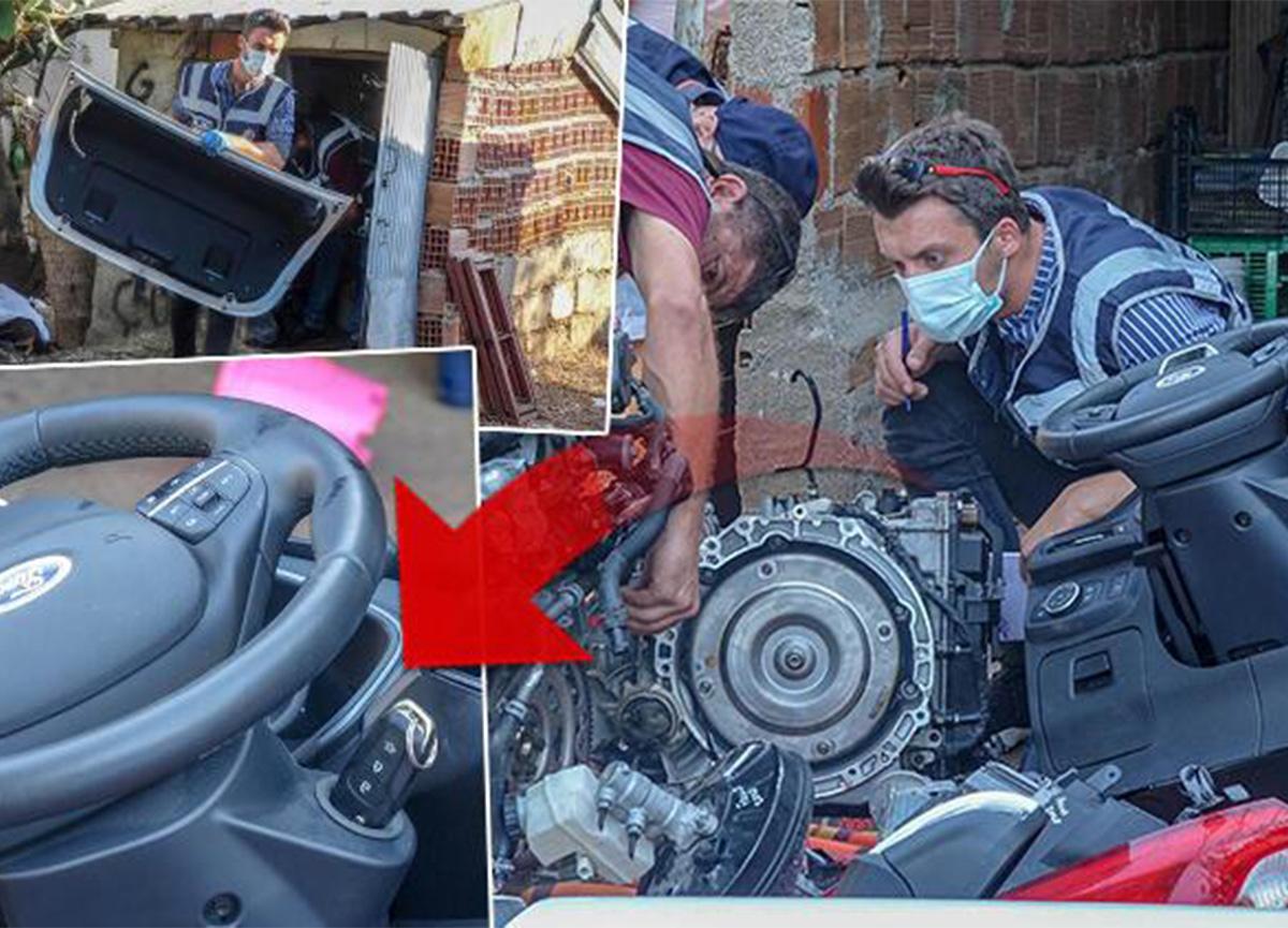 Muğla'da çalınan otomobil, Antalya'da bulundu!