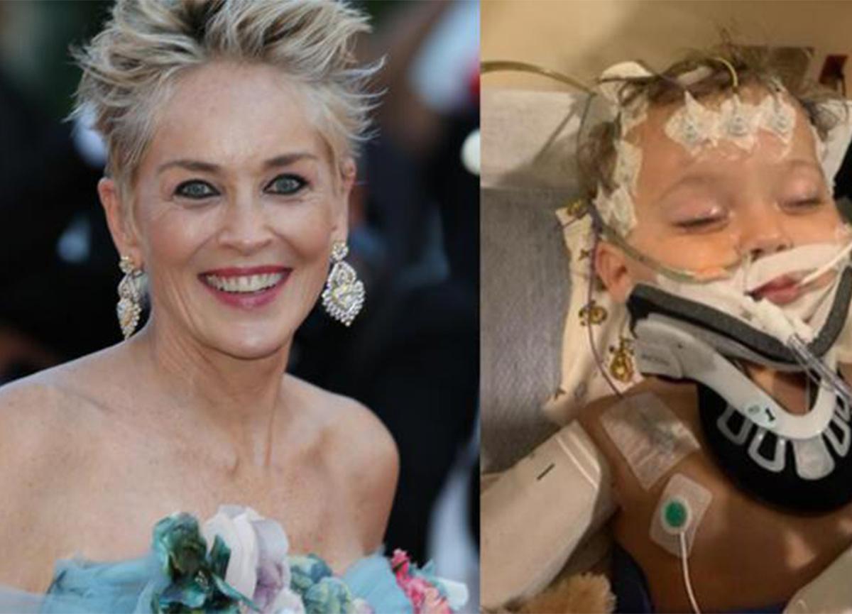 Sharon Stone'un zor günleri! Yeğeni için dua istedi