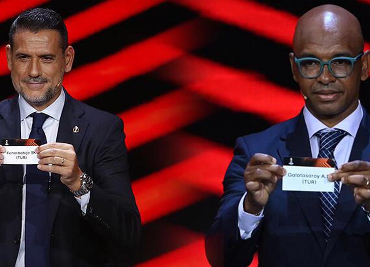 Fenerbahçe ve Galatasaray UEFA Avrupa Ligi fikstürü belli oldu