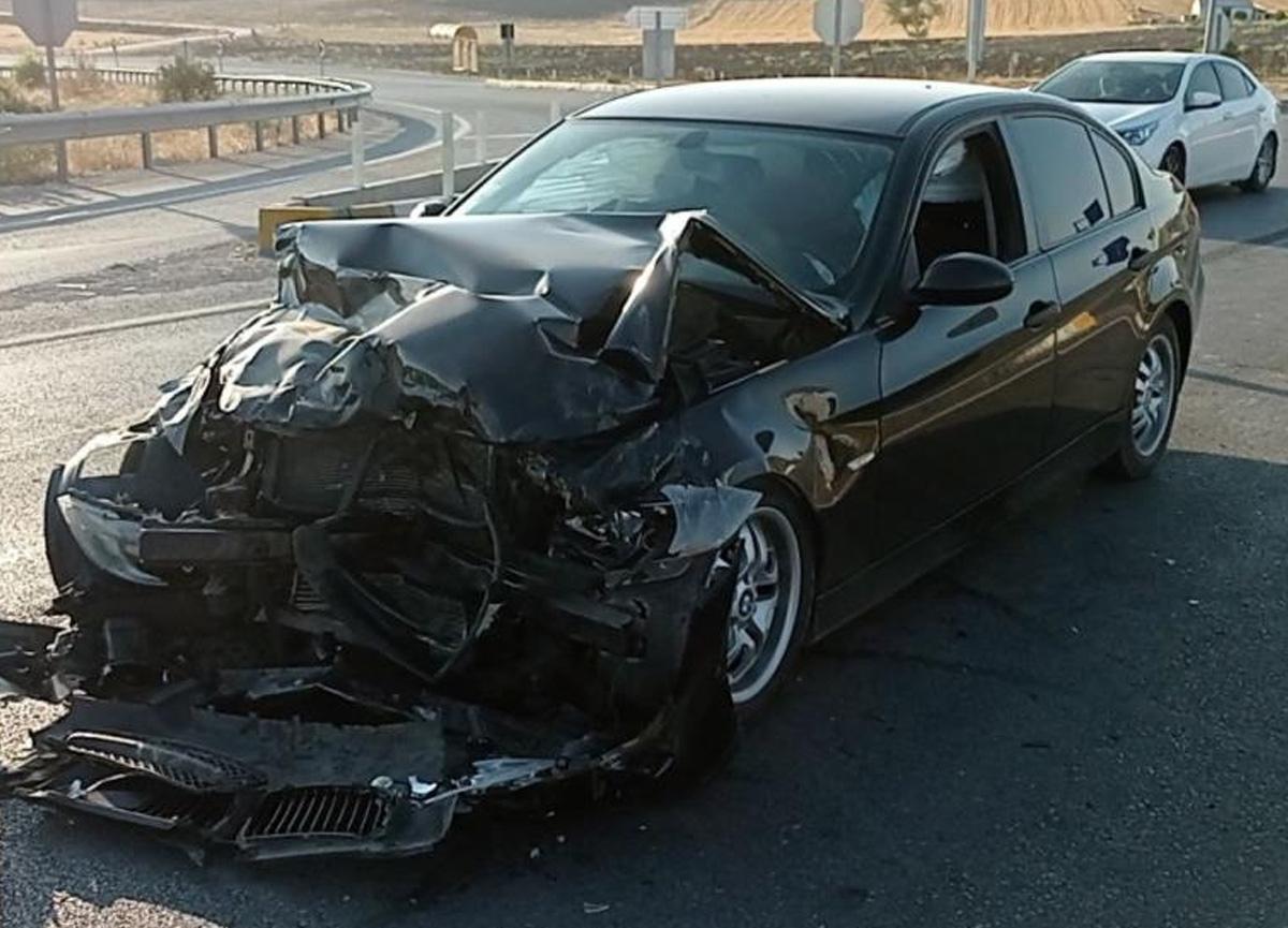 Sivas'ta meydana gelen kazada 5 kişi yaralandı