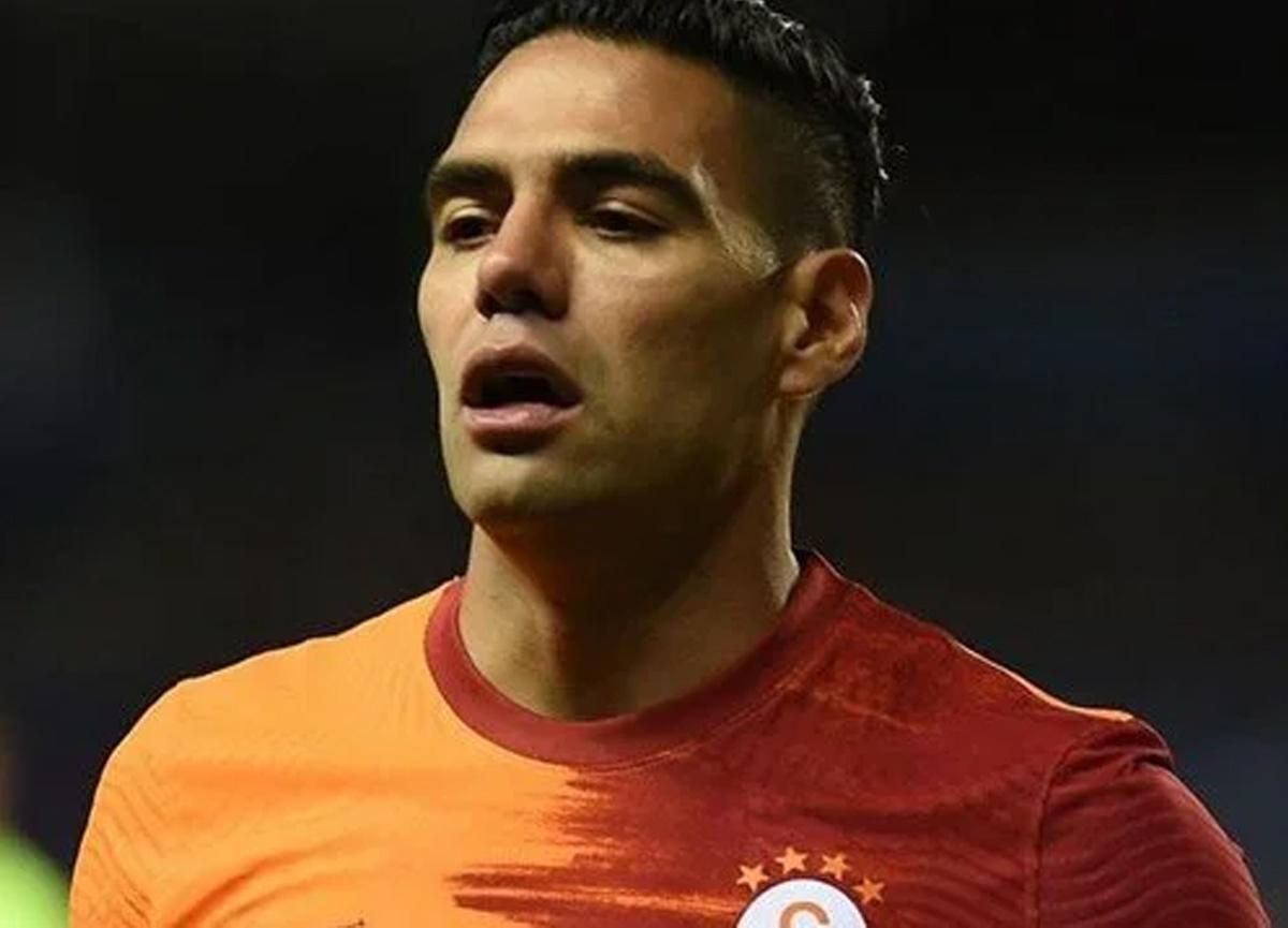 Galatasaray'da Kolombiyalı golcü Radamel Falcao'yla yollar ayrıldı