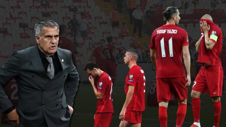 A Milli Takım'ın Karadağ maçı sonrası olay Şenol Güneş sözleri: 'Anlayamadık! Yazık olmasın'