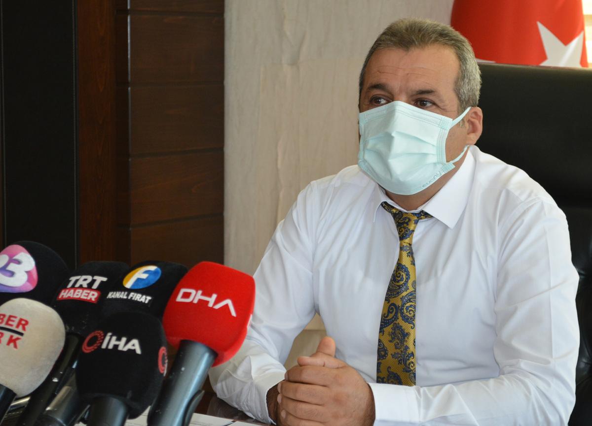 İl Sağlık Müdürü Polat: Elazığ'ın aşı haritasındaki rengi kırmızıdan sarıya geçti