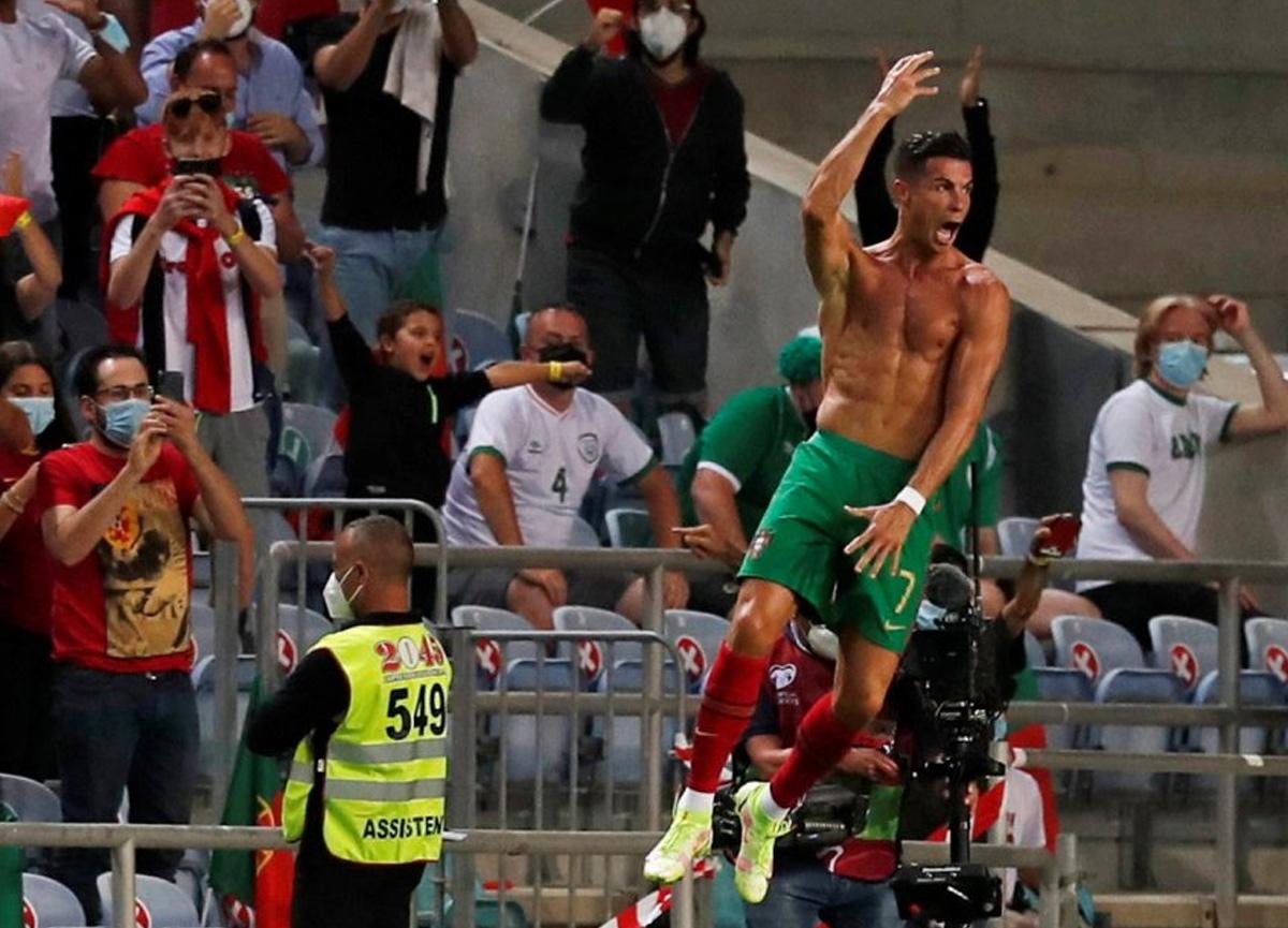 Cristiano Ronaldo'dan bir rekor daha: Milli takım formasıyla en çok gol atan futbolcu oldu