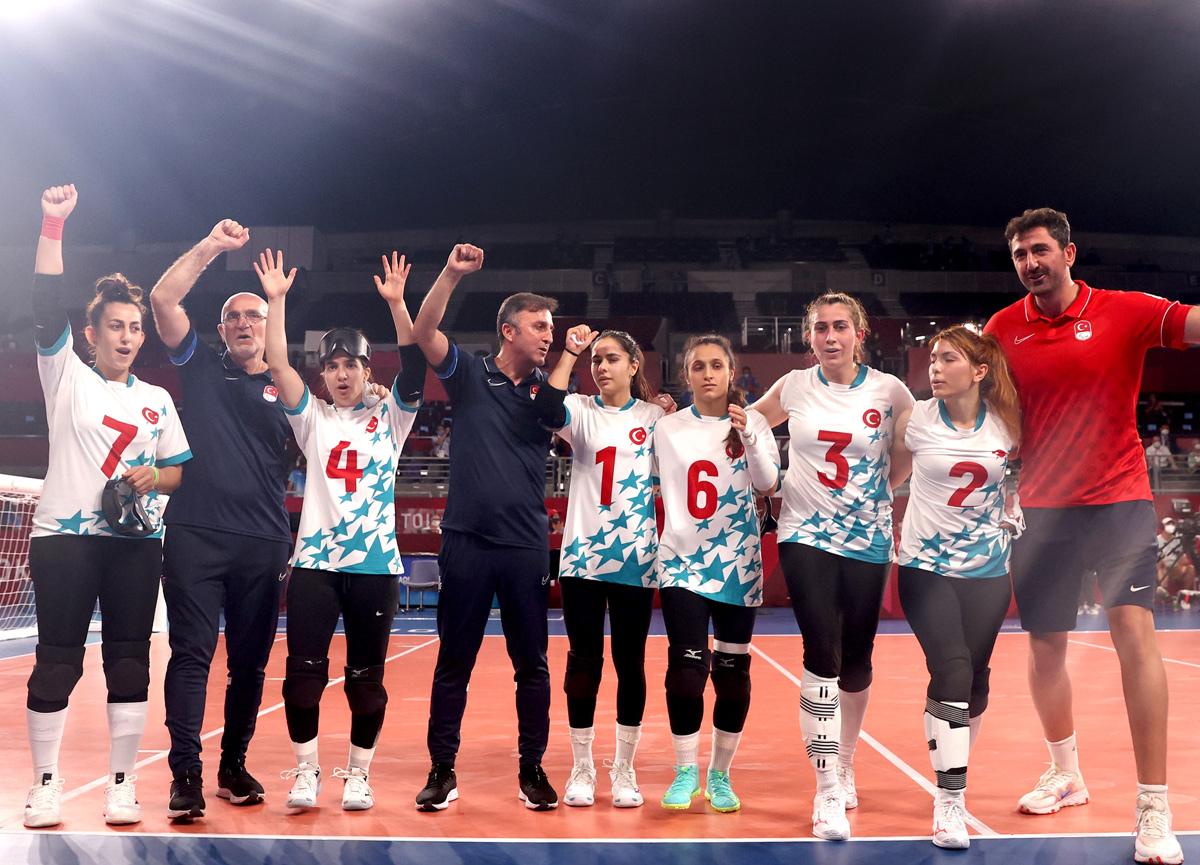 Altın madalya Türkiye'nin! Sevda Altınoluk coştu, kadın golbol takımımız ABD'yi sahadan sildi