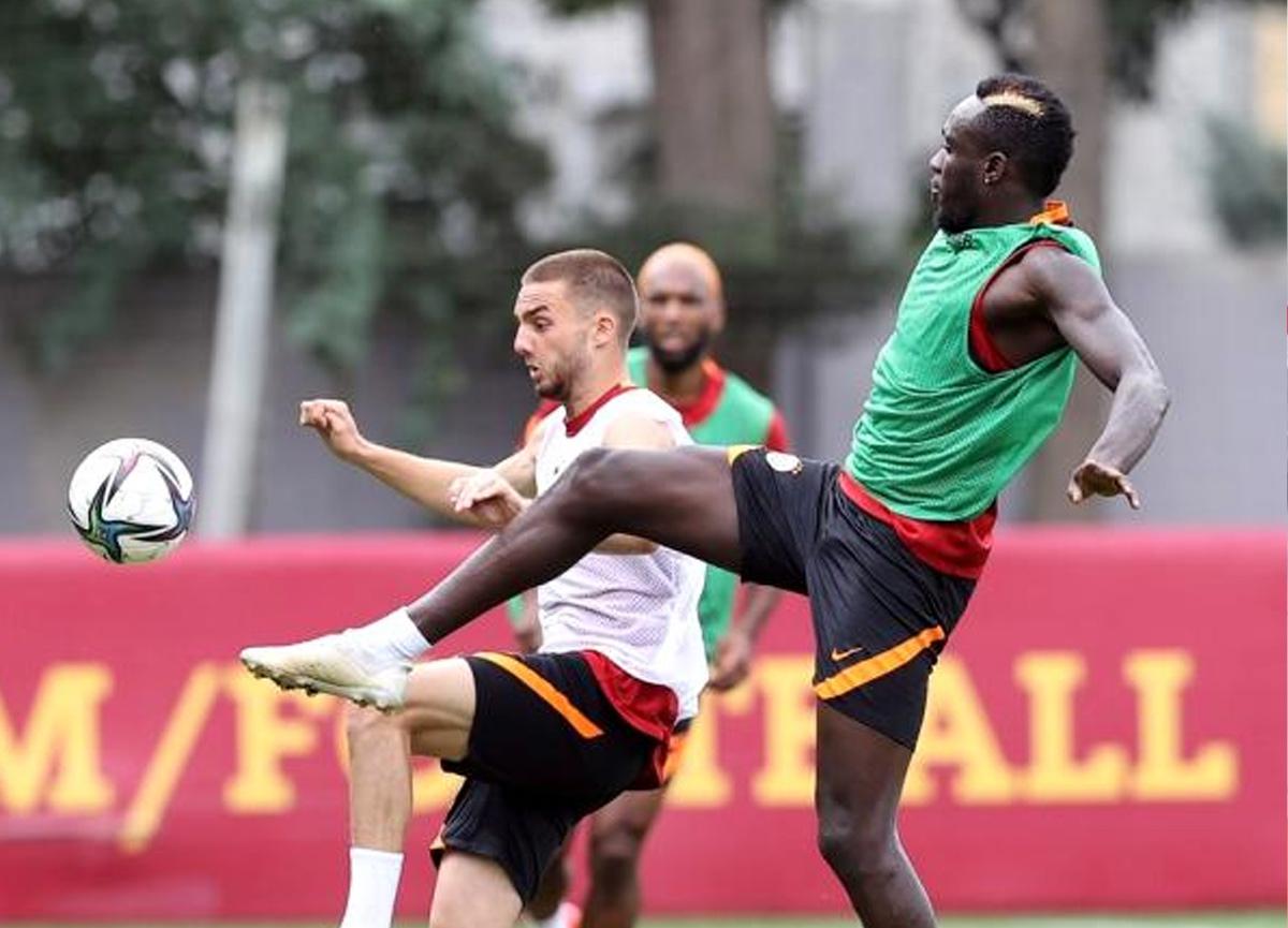 Galatasaray'da olay adam Marcao, takımla çalışmaya başladı