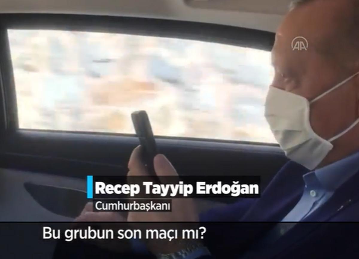 Cumhurbaşkanı Erdoğan'dan 'Filenin Efeleri'ne tebrik telefonu