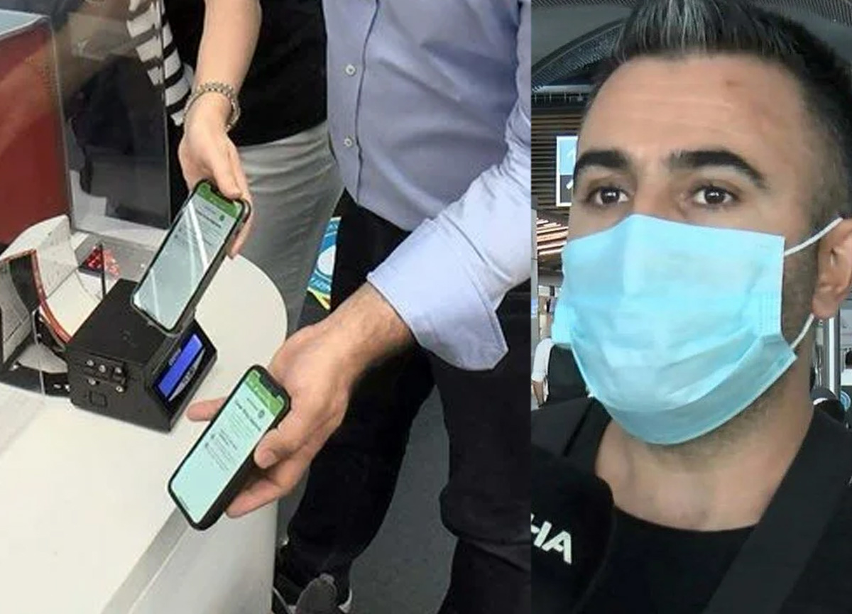 Balayına gidecekti, eksik aşı nedeniyle uçağa alınmadı