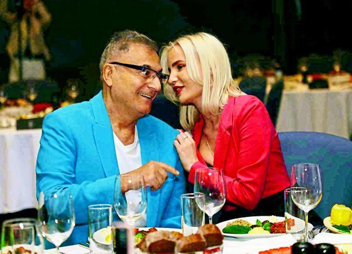 Mehmet Ali Erbil kendisinden 40 yaş küçük sevgilisiyle görüntülendi