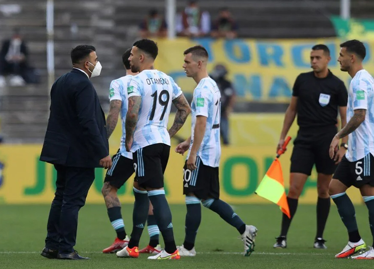 Olaylı Brezilya-Arjantin maçı mahkemeye taşınıyor