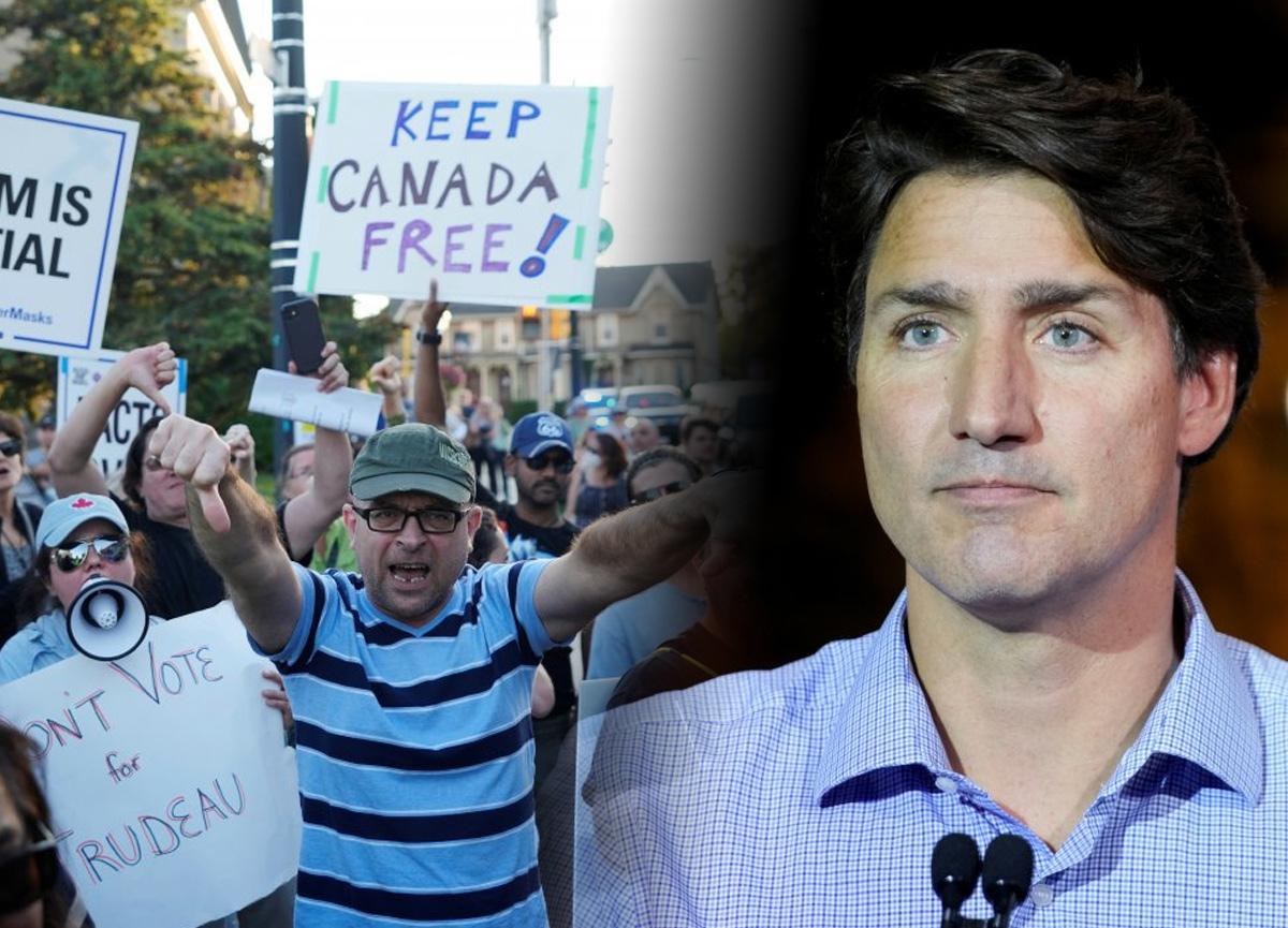 Kanada Başbakanı Justin Trudeau taşlı saldırıya uğradı