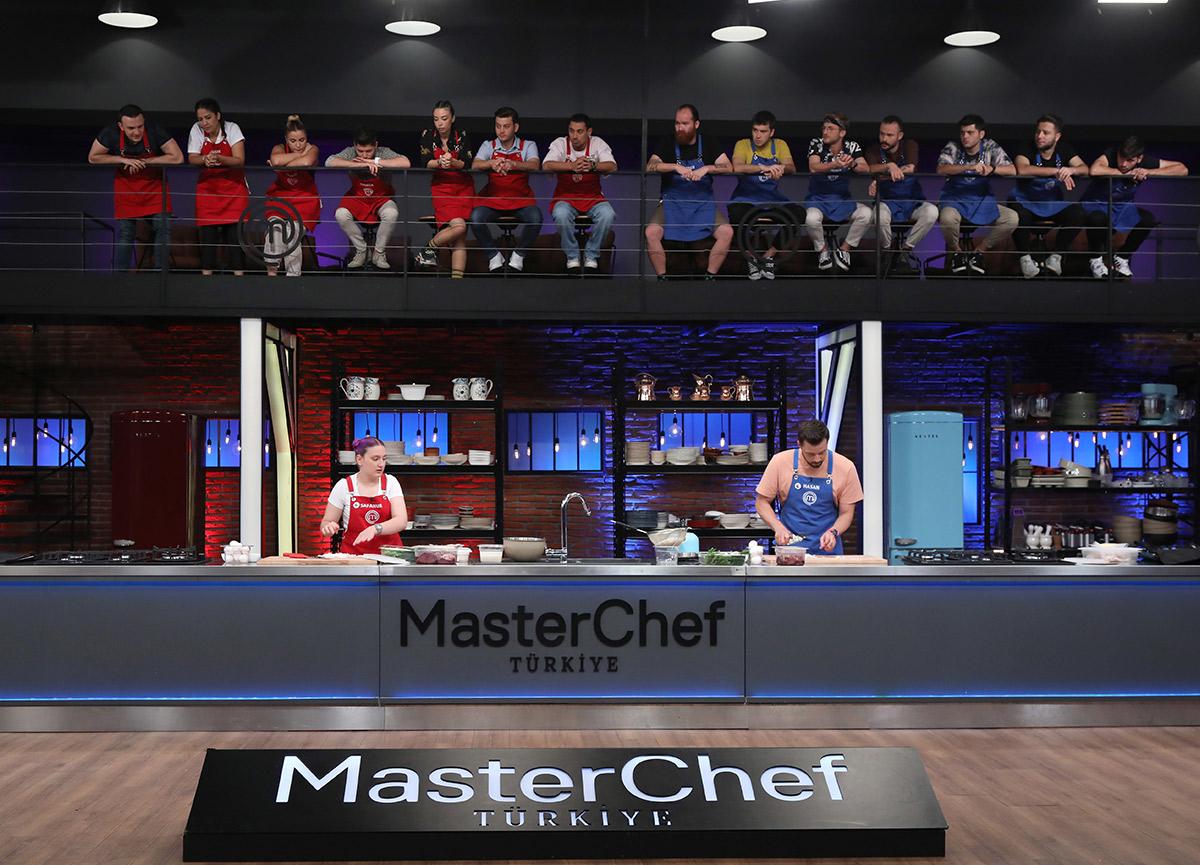 MasterChef'te kaptanlar düellosunu kim kazandı? 6 Eylül MasterChef 2021 kaptanlık oyunu, takım kadroları