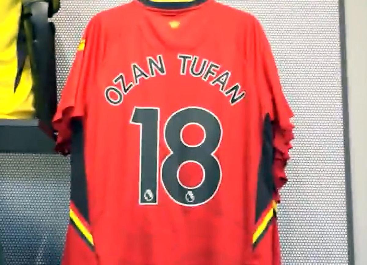 Ozan Tufan'ın Watford'daki forma numarası belli oldu