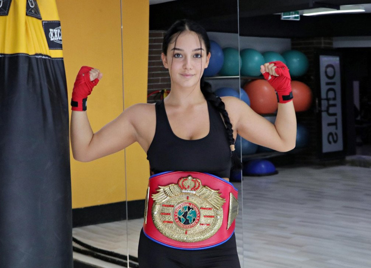Eskişehir'de kilo vermek için boksa başladı, ilk 8 maçta kaybetmedi