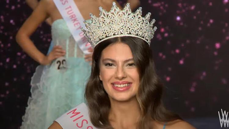 Miss Turkey 2021 birincisi belli oldu! İşte kazanan isim