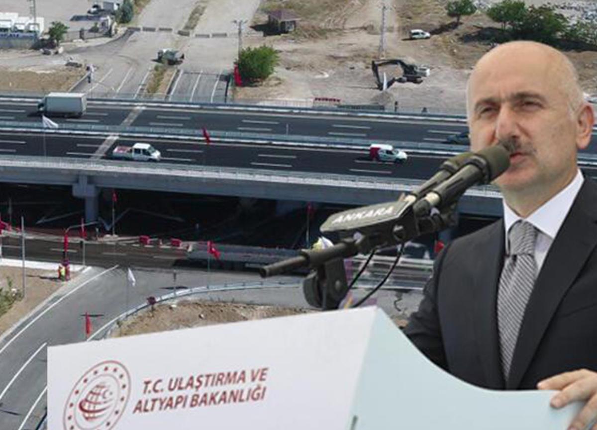 Ankara-Kahramankazan Yolu'nda 3 kavşak hizmete açıldı!