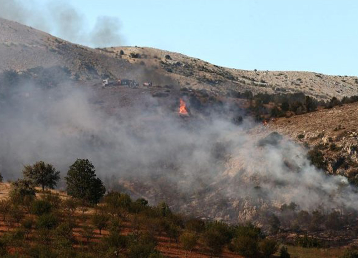 Ankara Çubuk'taki orman yangını kontrol altına alındı!