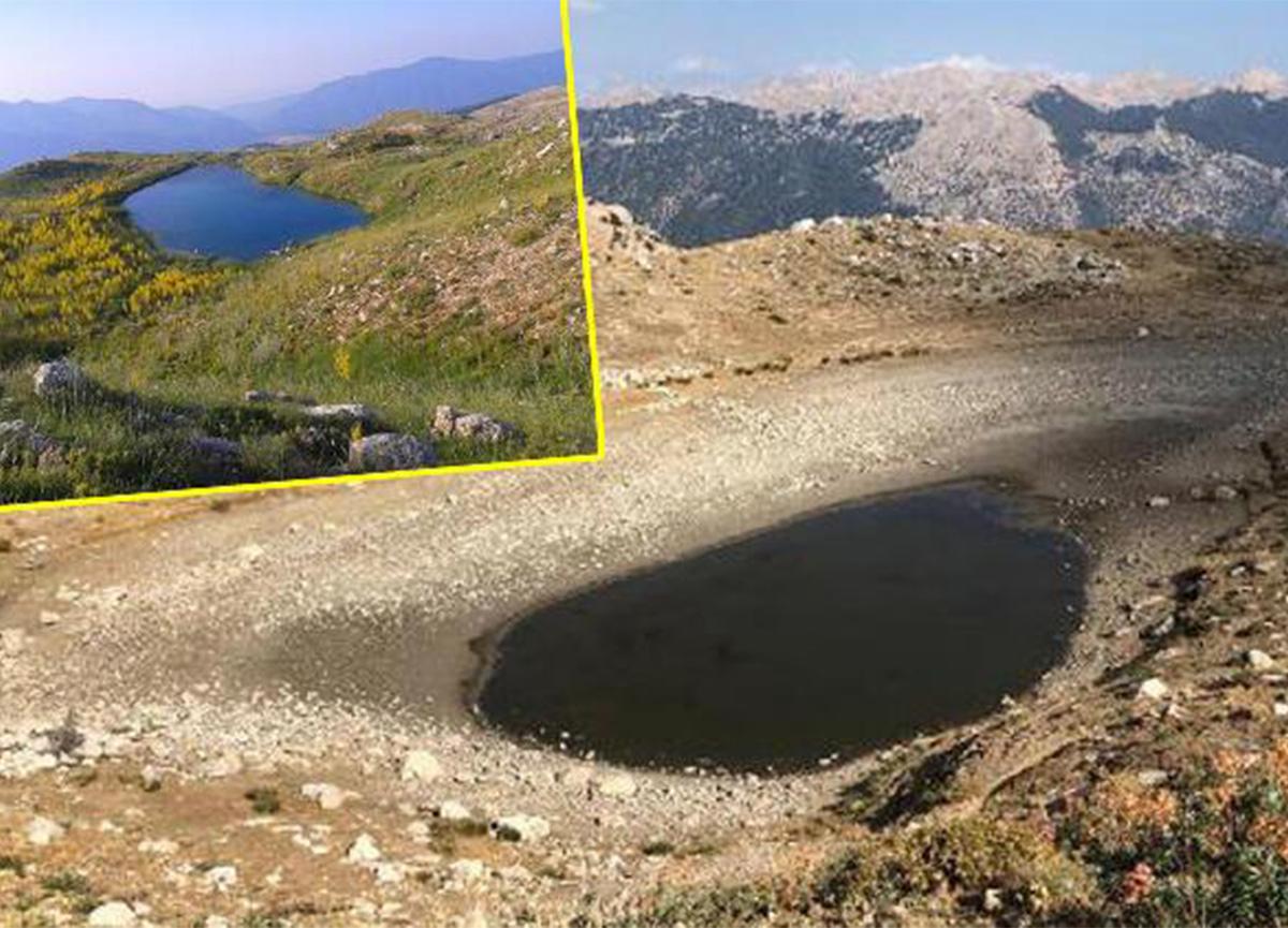 Kartal Gölü kuraklık nedeniyle kuruma tehlikesiyle karşı karşıya!