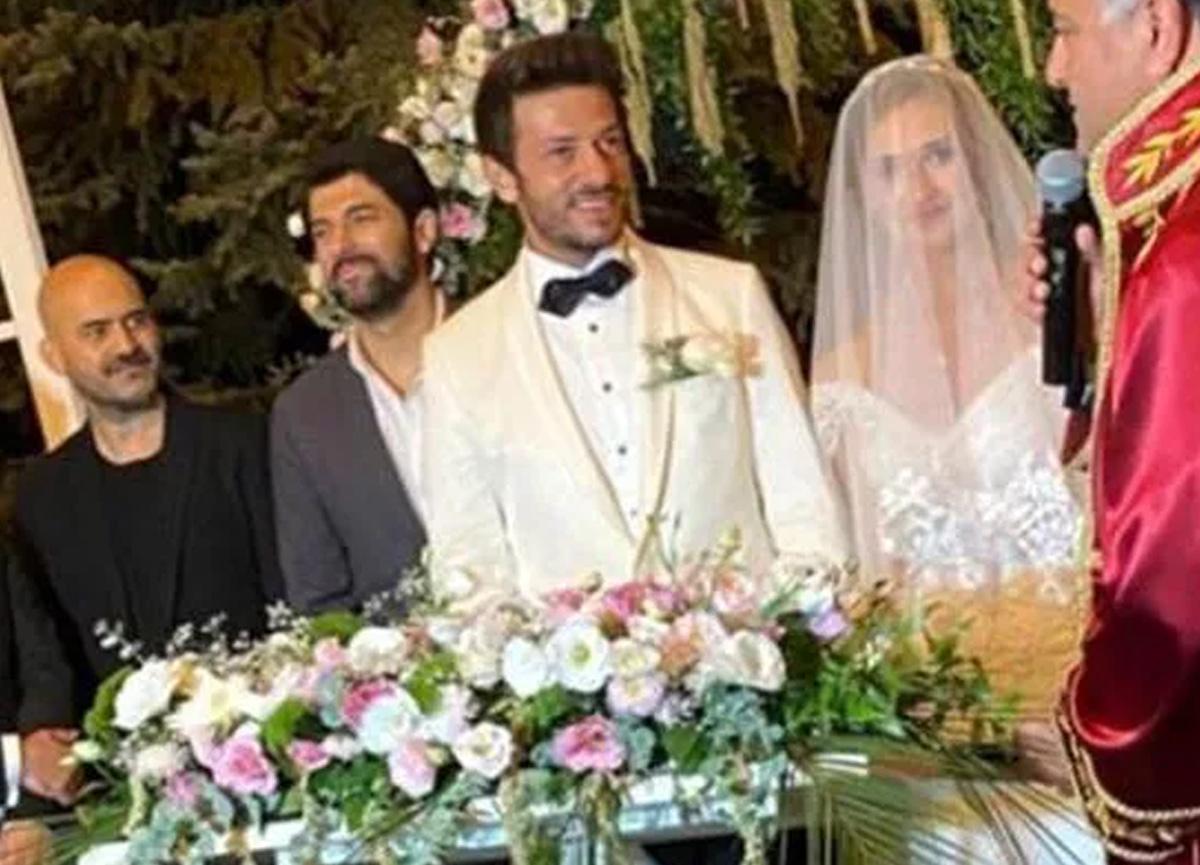 Oya Unustası ile Ahmet Tansu Taşanlar evlendi