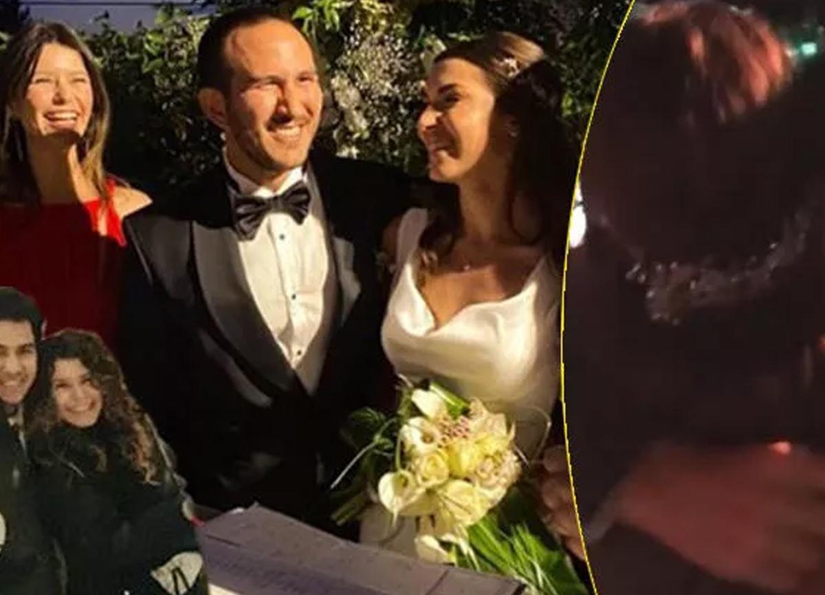 Beren Saat'in ilk aşkı Efe Güray'ın kardeşi Yaman Güray evlendi, gecede Kenan Doğulu sahneye çıktı!