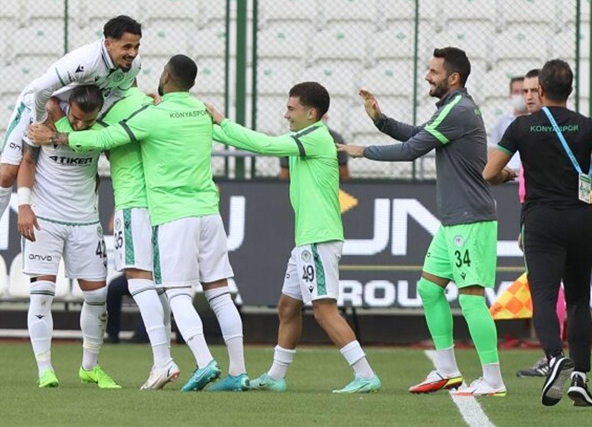 Konyaspor evinde Altay'ı 3-1 mağlup etti