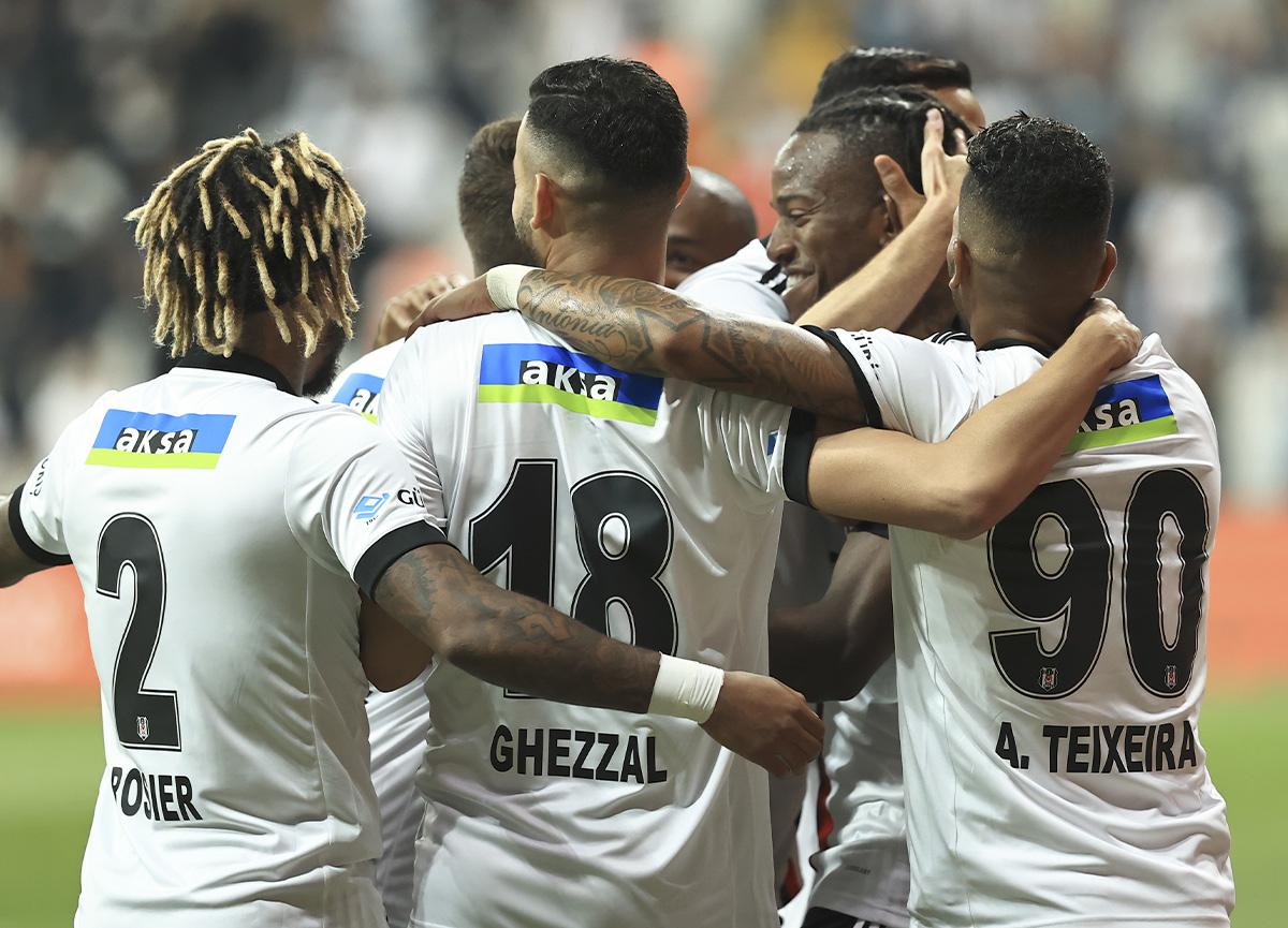 Beşiktaş, sahasında Yeni Malatyaspor'u 3 golle geçti