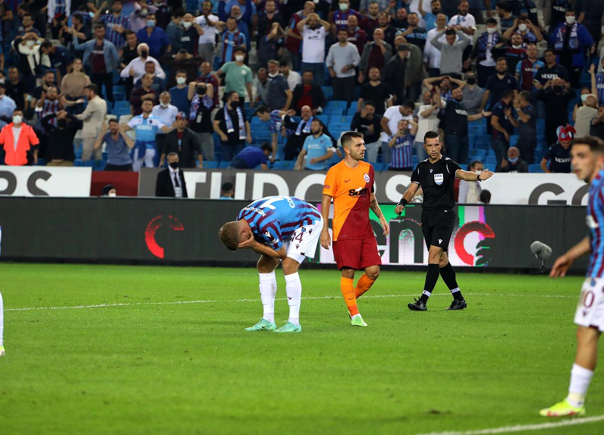 4 gollü mücadelede kazanan çıkmadı! Trabzonspor 2-2 Galatasaray MAÇ SONUCU