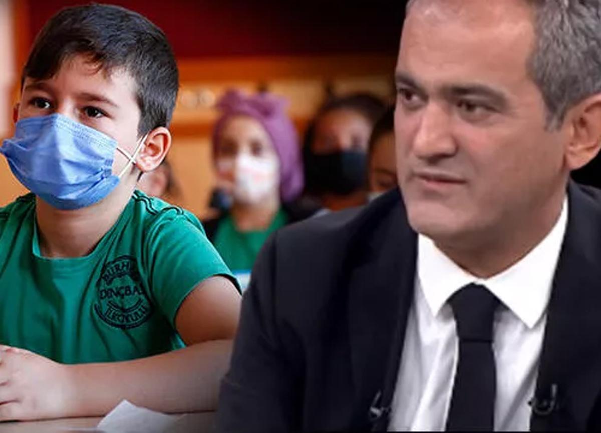 Okullarda PCR testi zorunlu mu? Milli Eğitim Bakanı Mahmut Özer'den yanıt