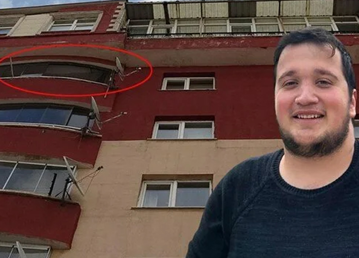 Üniversiteli Furkan, 5'inci kat balkonundan düşüp hayatını kaybetti