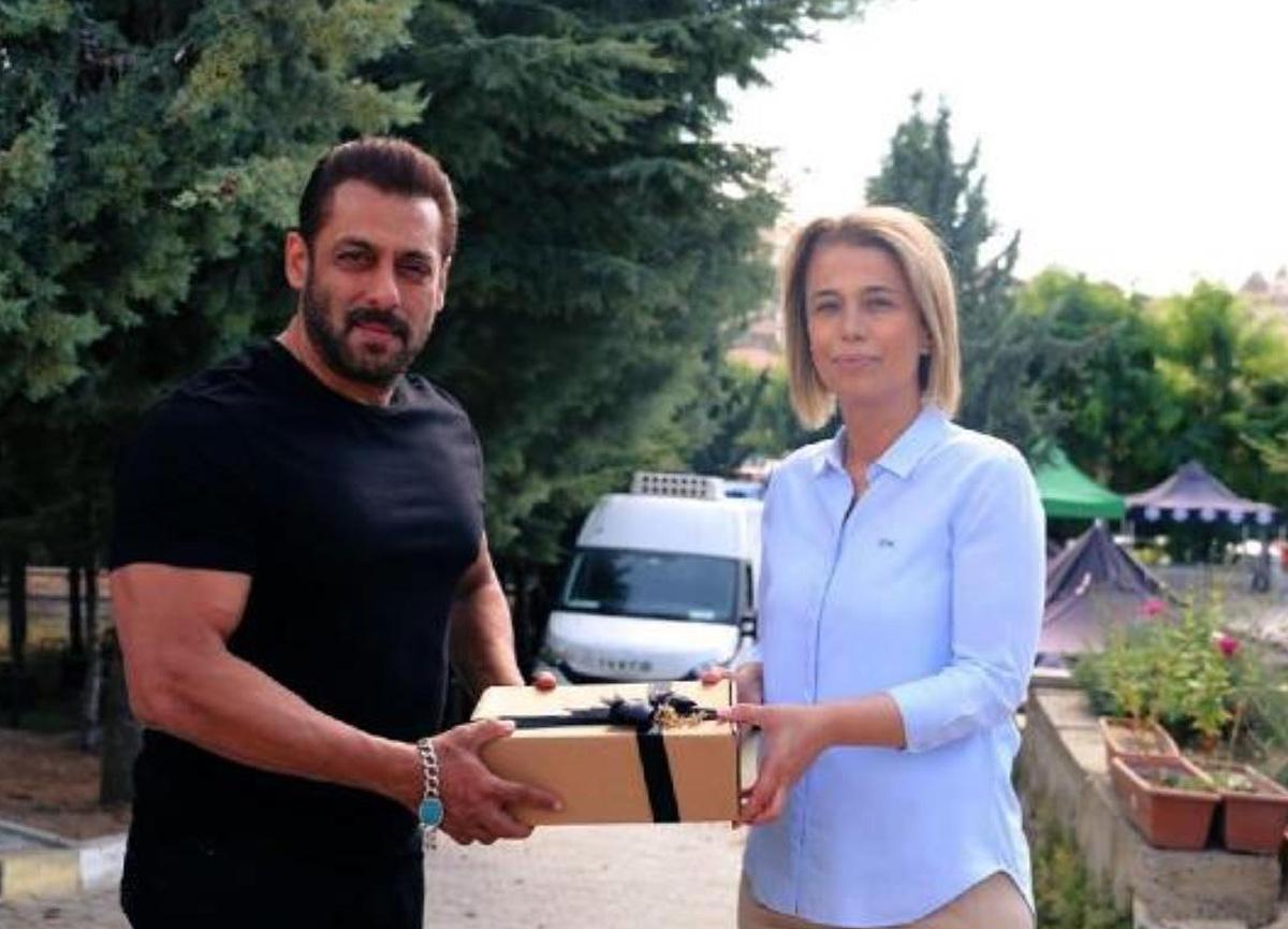 Bollywood'un yıldızı Khan Kapadokya'ya geldi
