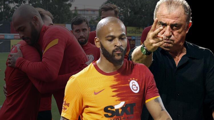 Galatasaray'da beklenen oldu! Fatih Terim'den Marcao kararı