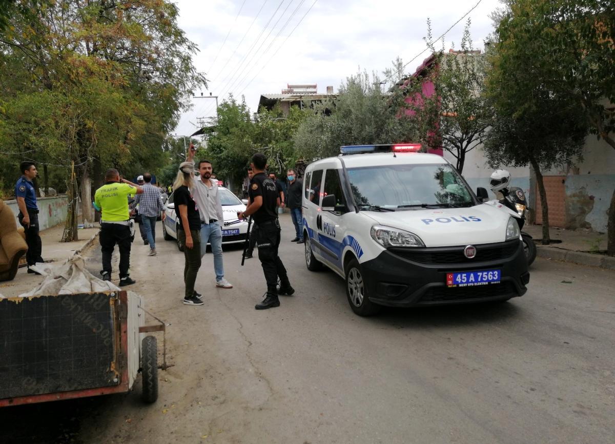 Manisa'da iki grup arasında silahlı çatışma: 4 yaralı, 5 gözaltı!