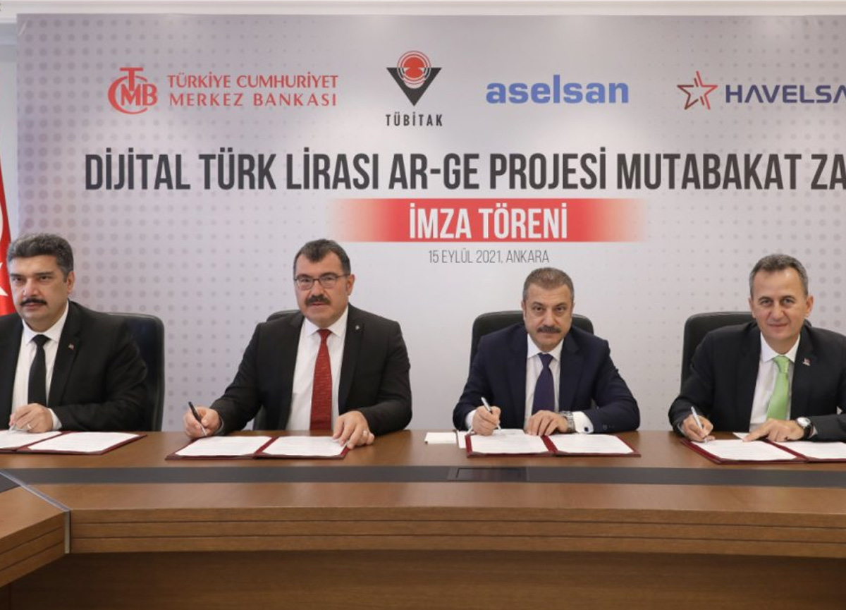 Merkez Bankası'ndan Dijital Türk Lirası projesi hamlesi