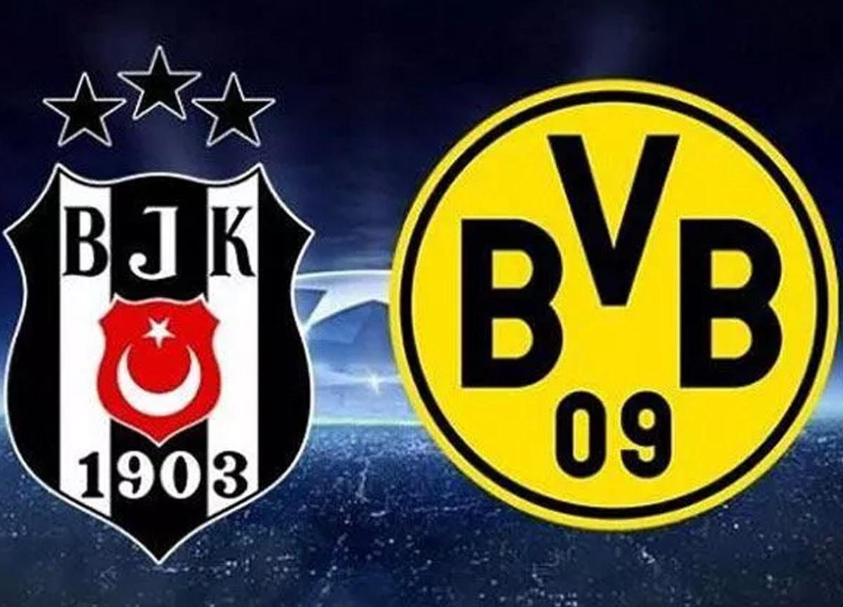 Beşiktaş Borussia Dortmund maçı saat kaçta hangi kanalda canlı yayınlanacak?   UEFA Şampiyonlar Ligi