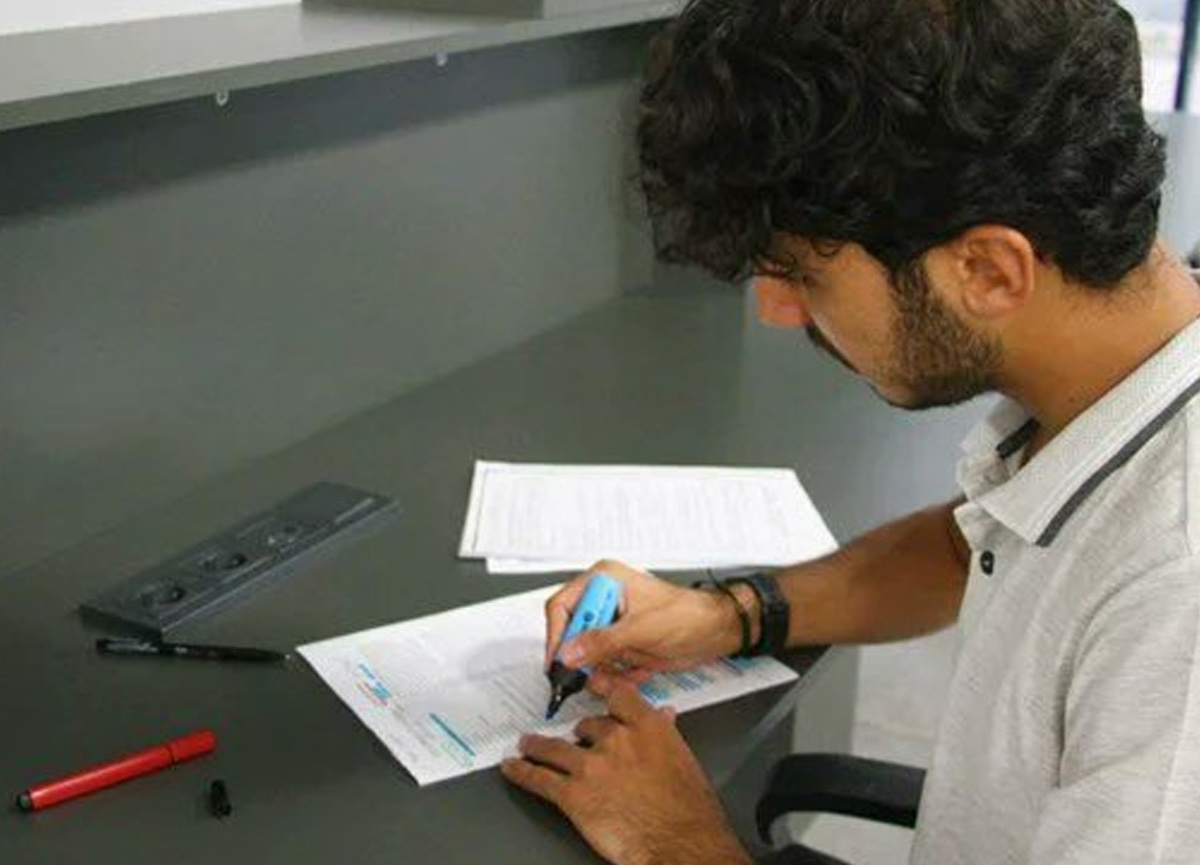Fırat Üniversitesi kütüphanesi inşaatında çalışmıştı, şimdi öğrencisi oldu