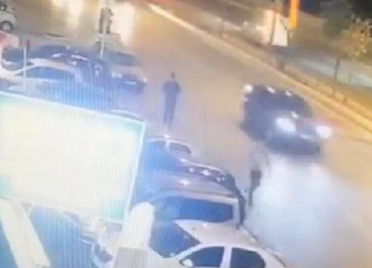 Alkollü sürücü çarpıp kaçmaya çalıştı! Motosikletle yakalayıp sürükleyerek getirdiler...