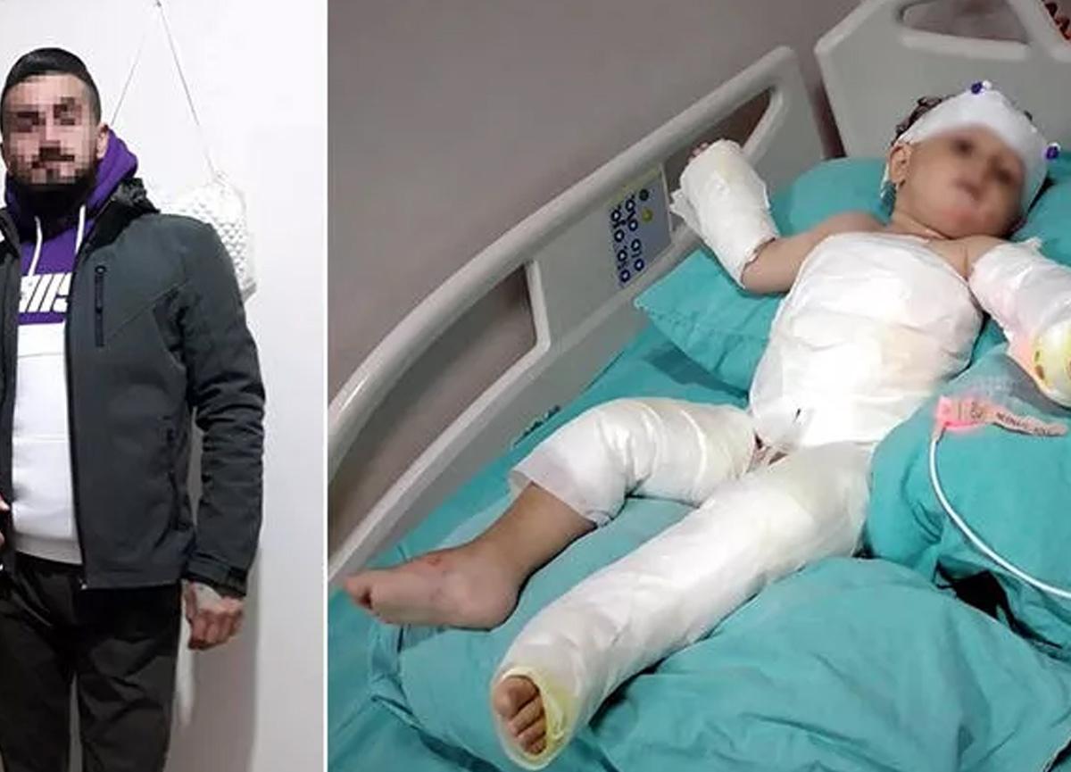 İzmir'de kan donduran olay! Eşini ve çocuğunu yaktı