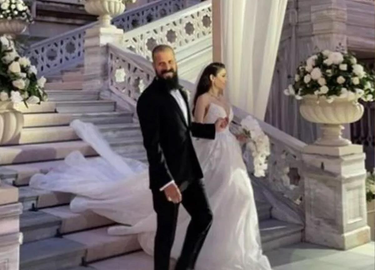 Orhan Gencebay'ın oğlu Gökhan Gencebay Seda Han Özmen ile evlendi!