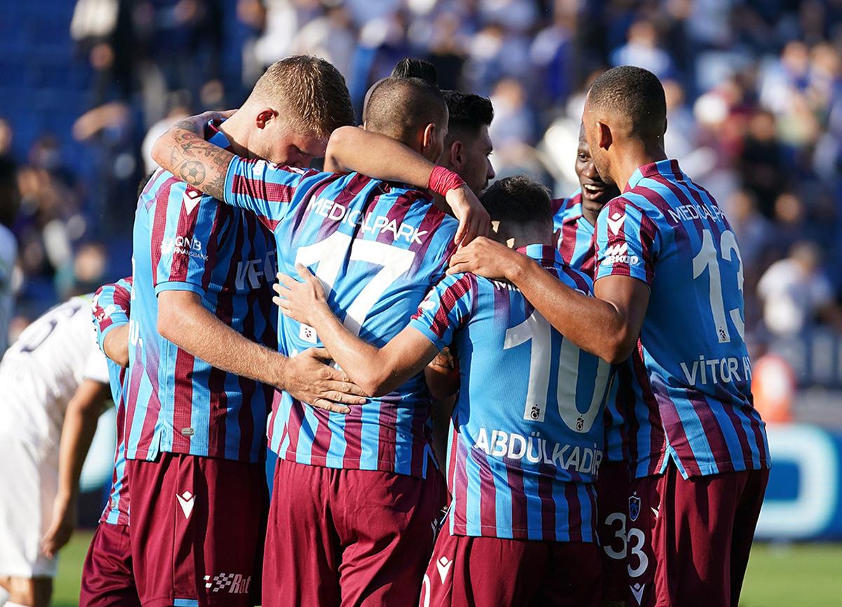 Trabzonspor, Kasımpaşa'yı 1-0 mağlup etti