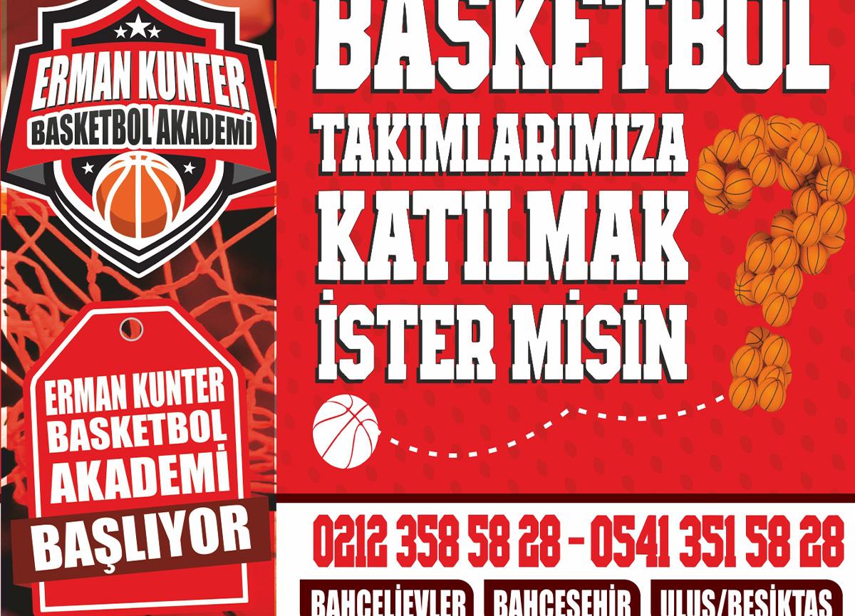 Erman Kunter Basketbol Akademi kış dönemi çalışmaları başladı!