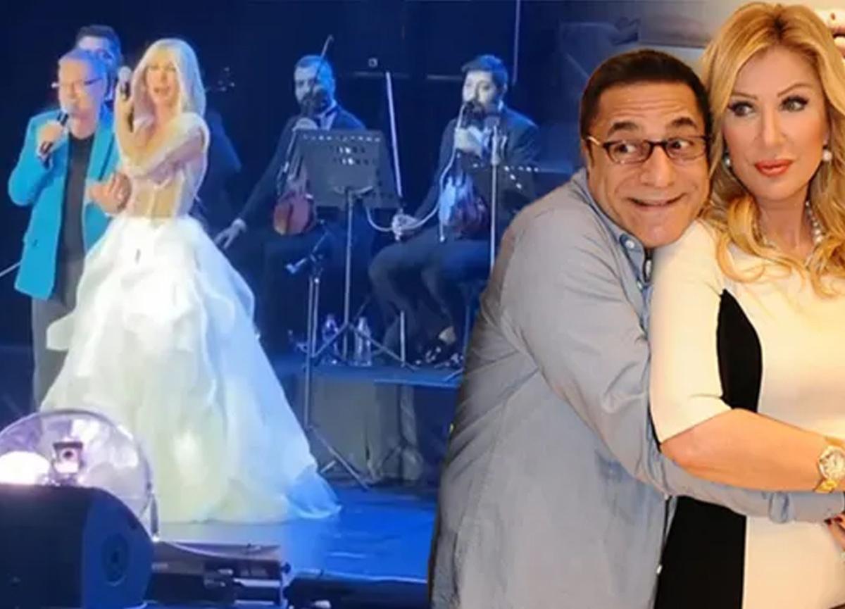 Seda Sayan ile Mehmet Ali Erbil sahnede barıştı!