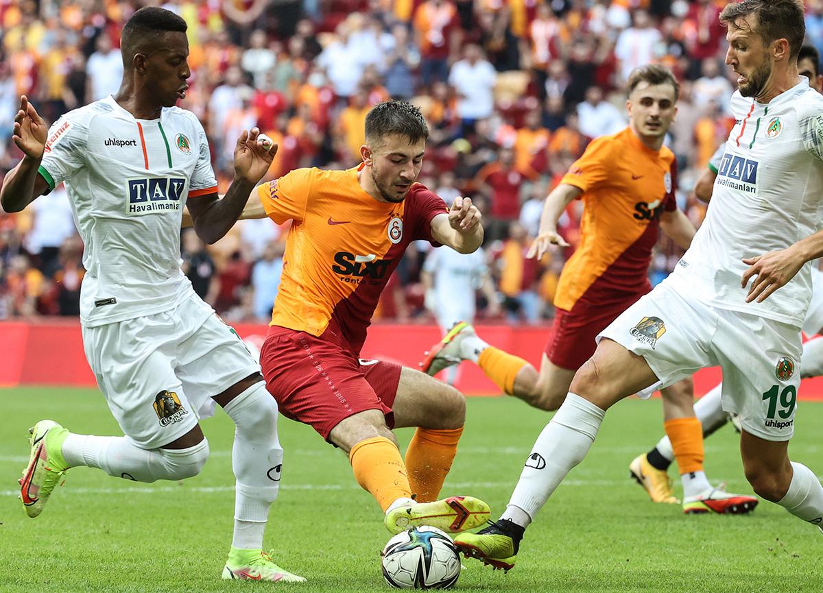 Galatasaray sahasında Alanyaspor'a yenildi! Galatasaray 0-1 Alanyaspor