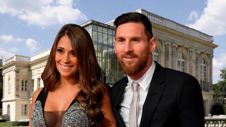 İşte Lionel Messi'nin Paris'teki malikanesi