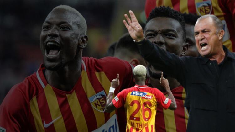 Kayseri'de Galatasaray'a Mame Thiam çelmesi! Fatih Terim'e maç sonu istifa şoku
