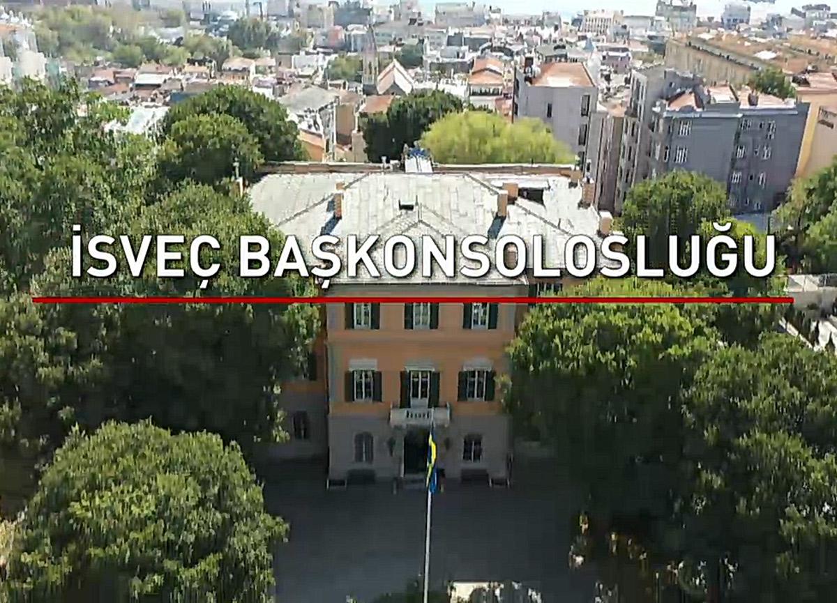 İsveç konsolosluğu nerede? İstanbul İsveç konsolosluğu konumu nedir? İsveç konsolosluğu tarihi